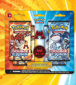 Pokemon TCG Double Crisis Team Magma Collector Pin: Blister (4 Packs)
