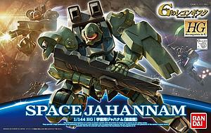 Gundam High Grade Reconguista in G 1/144 Scale Model Kit: #006 Space Jahannam