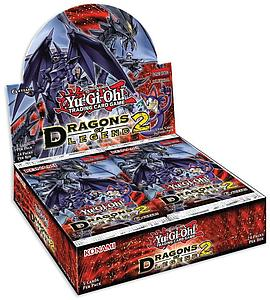 YuGiOh Trading Card Game: Dragons of Legend 2 Booster Box