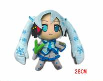 "Plush Toy Vocaloid 12"" Snow Miku"