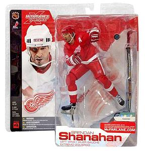 NHL Sportspicks Series 4 Brendan Shanahan (Detroit Red Wings) Red Jersey Variant