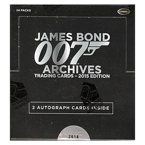 Rittenhouse James Bond Archives 2015 Trading Cards Box