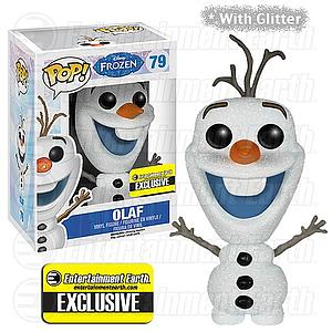 Pop! Disney Frozen Vinyl Figure Olaf #79 Entertainment Earth Exclusive