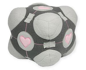Portal Weighted Plush: Companion Cube