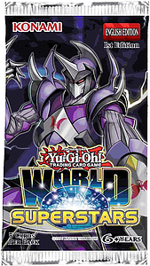 YuGiOh Trading Card Game: World Superstars Booster Pack