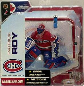 NHL Sportspicks Series 5 Patrick Roy (Montreal Canadiens) Red Jersey Variant