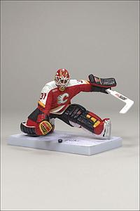 NHL Sportspicks Series 19 Grant Fuhr (Calgary Flames) Red Jersey