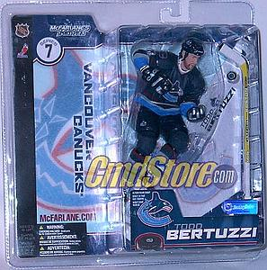 NHL Sportspicks Series 7 Todd Bertuzzi (Vancouver Canucks) Blue Jersey Variant
