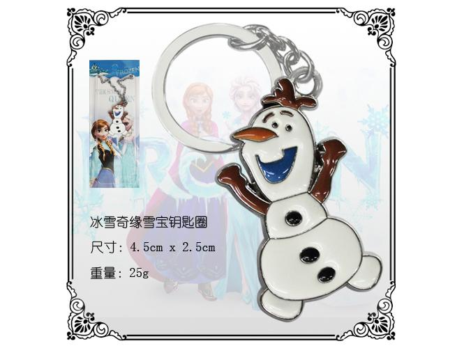 Frozen Keychain Olaf (Left)