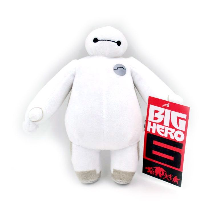 "Big Hero 6 Plush Keychain Baymax (3"")"