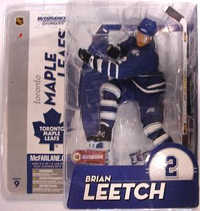 McFarlane NHL Sportspicks Series 9 Brian Leetch (Toronto Maple Leafs) Blue Jersey