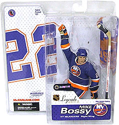 NHL Sportspicks Legends Series 2 Mike Bossy (New York Islanders) Blue Jersey Variant