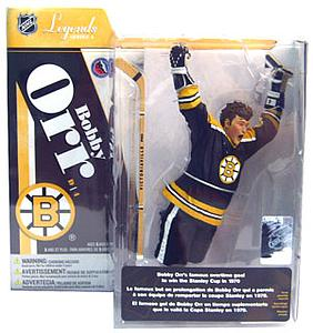 NHL Sportspicks Legends Series 4 Bobby Orr (Boston Bruins) Black