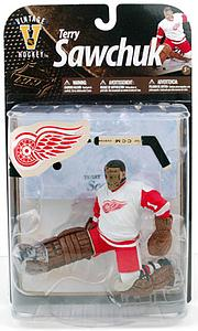McFarlane NHL Sportspicks Legends Series 8 Terry Sawchuk (Detroit Red Wings) White Jersey
