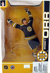 "NHL Sportspicks 12"" Series Bobby Orr (Boston Bruins) Black Jersey Exclusive"