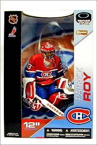 "NHL Sportspicks 12"" Series Patrick Roy (Montreal Canadiens) Red"