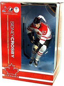 "NHL Sportspicks 12"" Series Sidney Crosby (Team Canada) White"