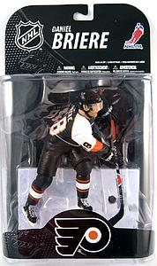 "NHL Sportspicks Series 20 Daniel Briere (Philadelphia Flyers) Black Jersey No ""A"" Variant"