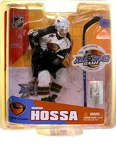 NHL Sportspicks All-Star Game (Atlanta 2008) Series Marian Hossa (Atlanta Thrashers) White Jersey (1 of 3000) Exclusive