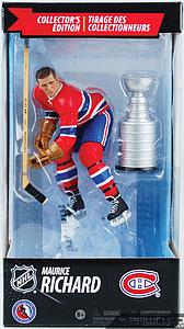 NHL Sportspicks Canadian Tire Series Maurice Richard with Stanley Cup (Montreal Canadiens) Red Jersey Exclusive