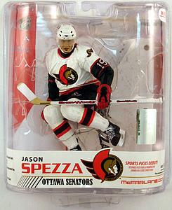 NHL Sportspicks Grosnor Series Jason Spezza (Ottawa Senators) White Jersey Exclusive