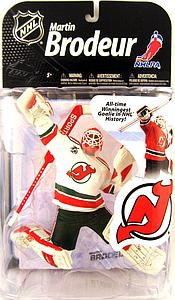NHL Sportspicks Series 22 Martin Brodeur (New Jersey Devils) White Jersey Collector Level