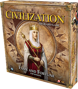 Civilization: The Board Game - Fame & Fortune Expansion