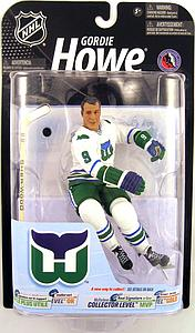 NHL Sportspicks Series 23 Gordie Howe (Hartford Whalers) White Jersey