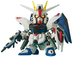 Gundam SD BB #257 Model Kit: Freedom Gundam