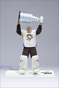 NHL Sportspicks Series 23 Marc-Andre Fleury (Pittsburgh Penguins) White Jersey