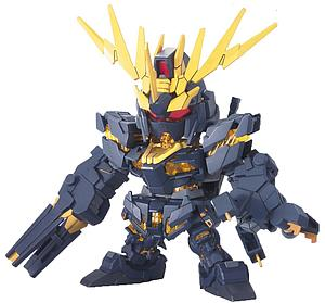 Gundam SD BB Model Kit: #380 Gundam Unicorn 02 Banshee