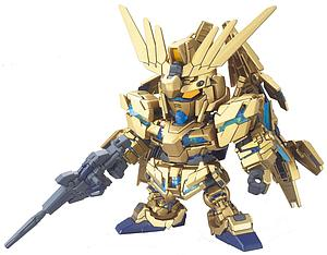 Gundam SD BB Model Kit:  #394 Gundam Unicorn 03 Phenex