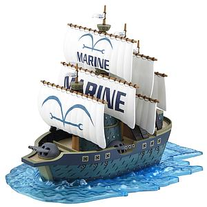 One Piece Grand Ship Collection Model Kit: #07 Marine Ship