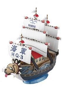 One Piece Grand Ship Collection Model Kit: Garp's Marine Ship