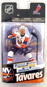 McFarlane NHL Sportspicks Series 24 John Tavares (New York Islanders) White Jersey Collector Level Silver (Only 1000 Made)
