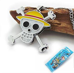 One Piece Necklace Skull Logo (Color)