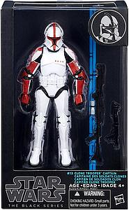 "Star Wars The Black Series 6"" Clone Trooper Captain #13"