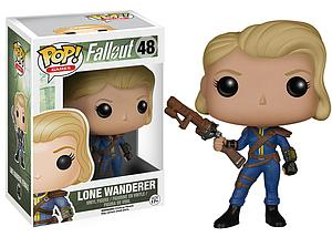 Pop! Games Fallout Vinyl Figure Lone Wanderer Female #48 (Vaulted)