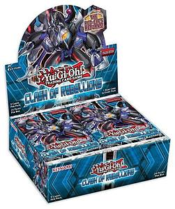 YuGiOh Trading Card Game Clash of Rebellions: Booster Box (24 Packs)
