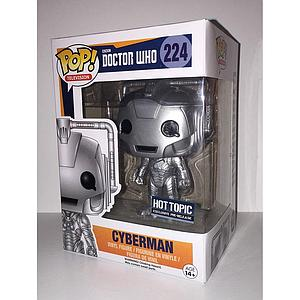 Pop! Television Doctor Who Vinyl Figure Cyberman #224 Hot Topic Exclusive Pre-Release