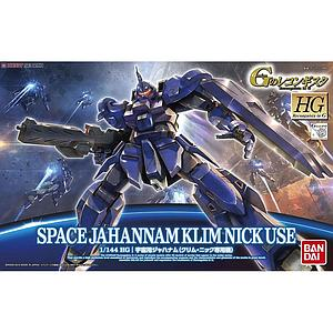 Gundam High Grade Reconguista in G 1/144 Scale Model Kit: #007 Space Jahannam Klim Nick Use