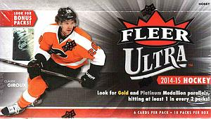 2014-15 NHL Upper Deck Fleer Ultra Hobby Box