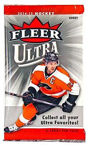 2014-15 NHL Upper Deck Fleer Ultra Hobby Pack