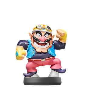 Nintendo Super Smash Bros. Amiibo Mini Figure: Wario