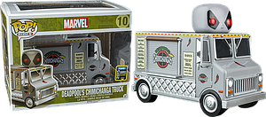 Pop! Rides Marvel Vinyl Bobble-Head Deadpool's Chimichanga Truck (X-Force) #10 2015 Summer Convention Exclusive