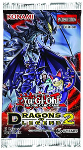 YuGiOh Trading Card Game: Dragons of Legend 2 Booster Pack