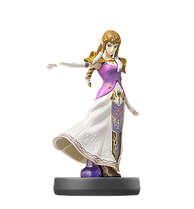 Nintendo Super Smash Bros. Amiibo Mini Figure: Zelda