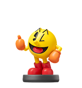 Nintendo Super Smash Bros. Amiibo Mini Figure: Pac-Man