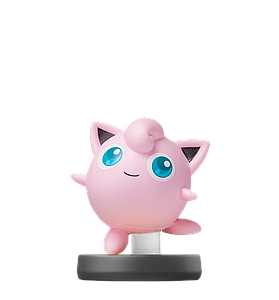 Nintendo Super Smash Bros. Amiibo Mini Figure: Jigglypuff