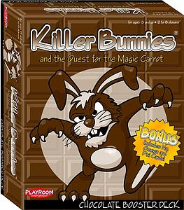 Killer Bunnies & the Quest for the Magic Carrot: Chocolate Booster Deck